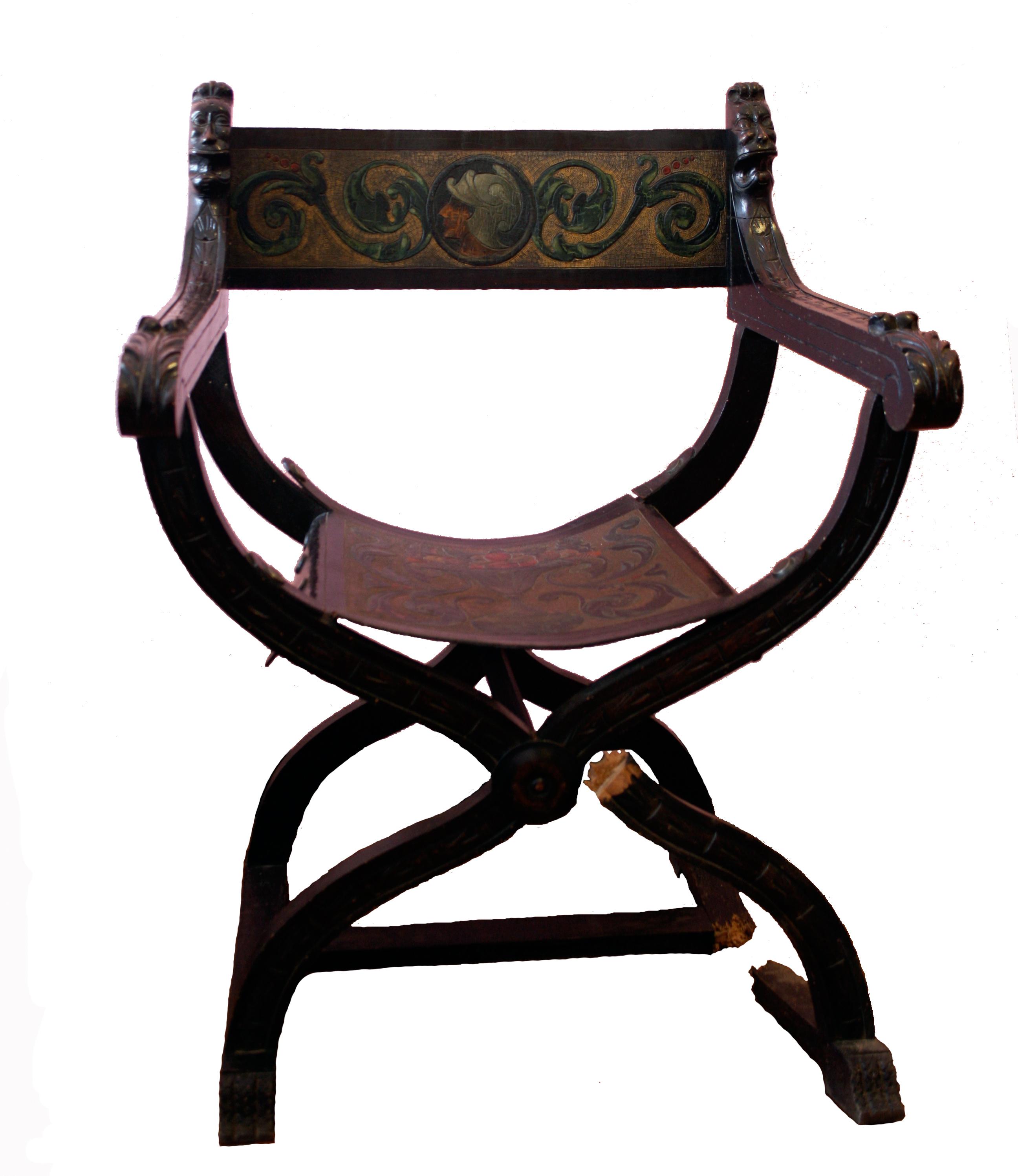 Silla romana artelier restauraci - Estilos de sillas antiguas ...
